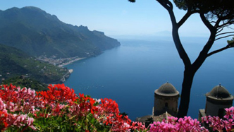 A glimpse of the Amalfi Coast